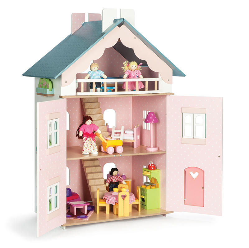 le toy van spielhaus la maison de juliette online kaufen emil paula kids. Black Bedroom Furniture Sets. Home Design Ideas