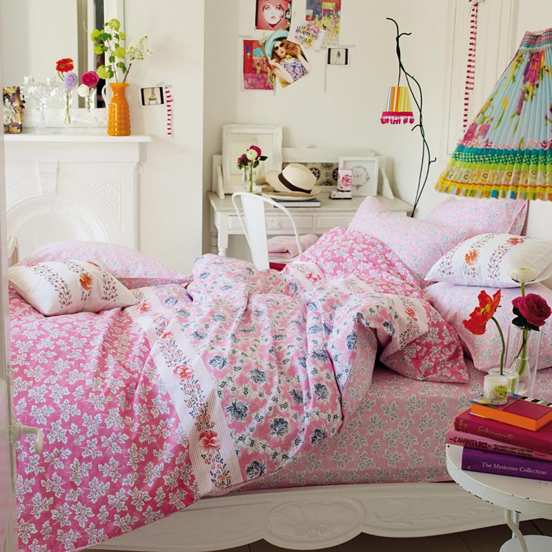 designers guild kinderbettw sche meadow leaf online kaufen emil paula kids. Black Bedroom Furniture Sets. Home Design Ideas
