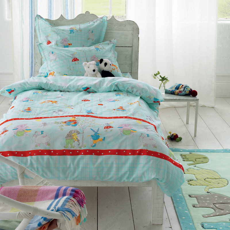 designers guild kinderbettw sche musical animals online kaufen emil paula kids. Black Bedroom Furniture Sets. Home Design Ideas