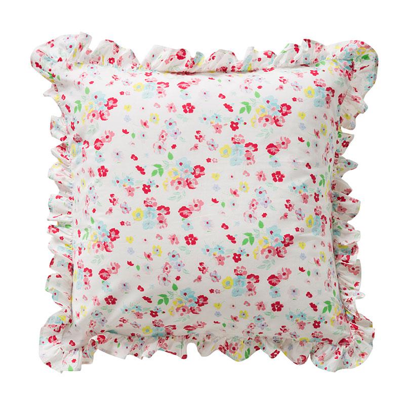 room seven kissenbezug flower fields mit r schen 50x50 online kaufen emil paula kids. Black Bedroom Furniture Sets. Home Design Ideas
