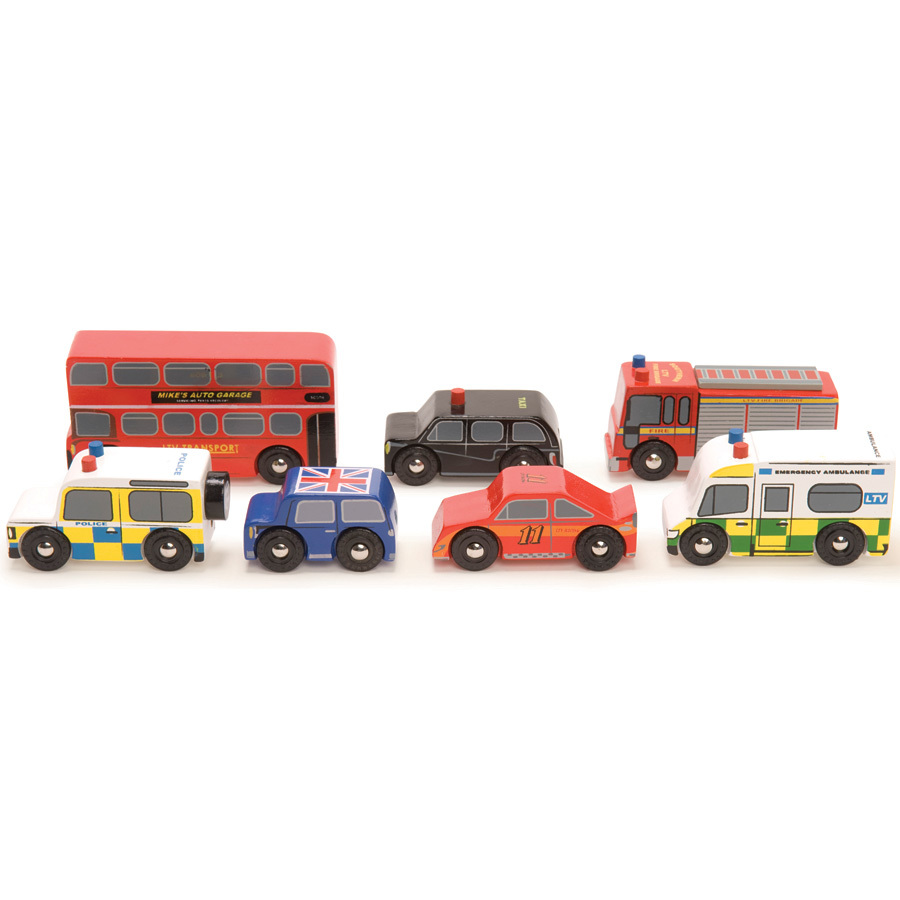 Le Toy Van Spielautos The London Cars Set online kaufen ...