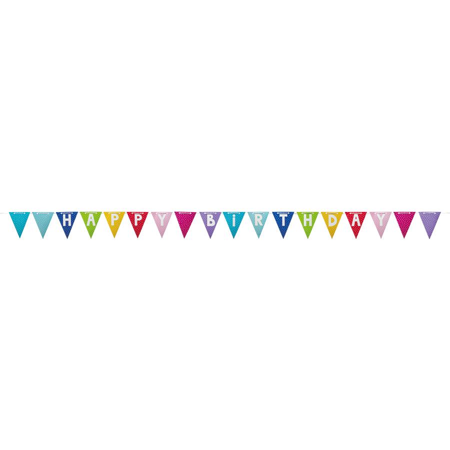 Jabadabado Party Wimpelkette Happy Birthday Online Kaufen