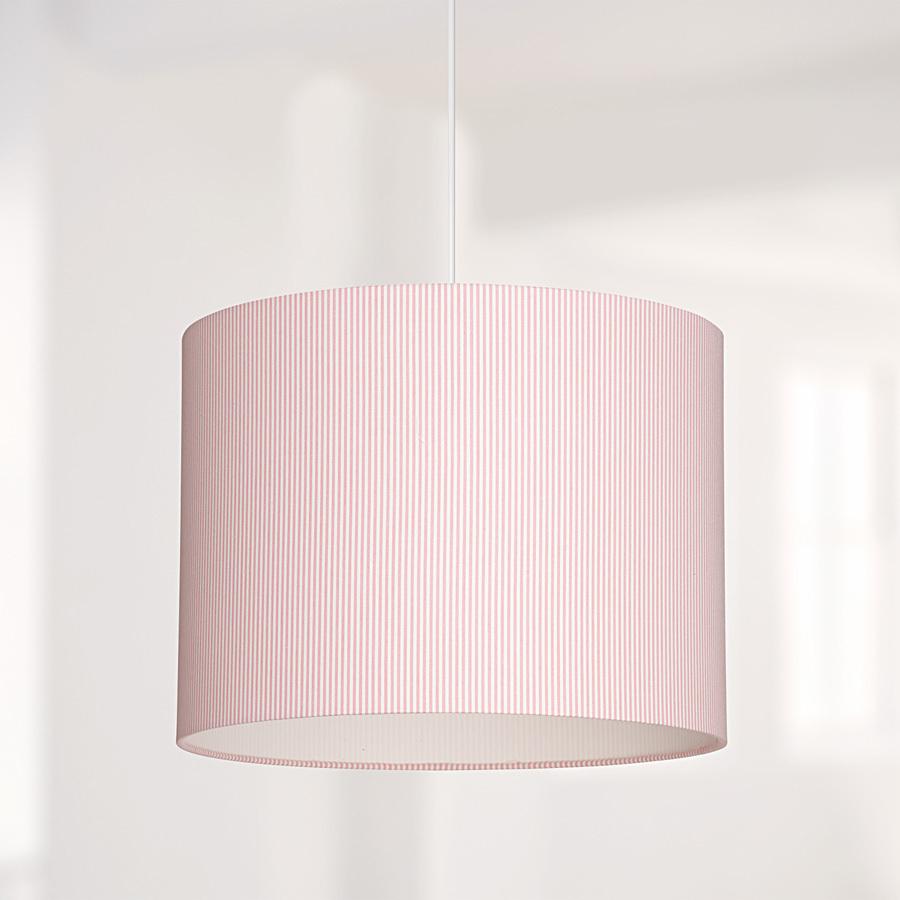 lampenschirm rosa gestreift online kaufen emil paula kids. Black Bedroom Furniture Sets. Home Design Ideas