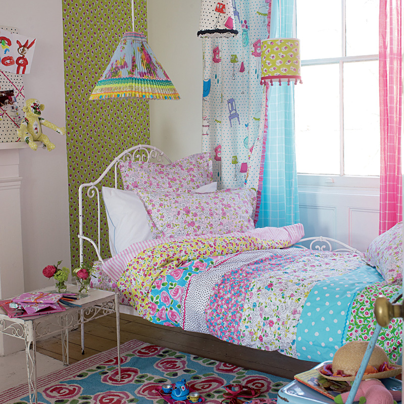 designers guild kinderbettw sche daisy daisy online kaufen emil paula kids. Black Bedroom Furniture Sets. Home Design Ideas