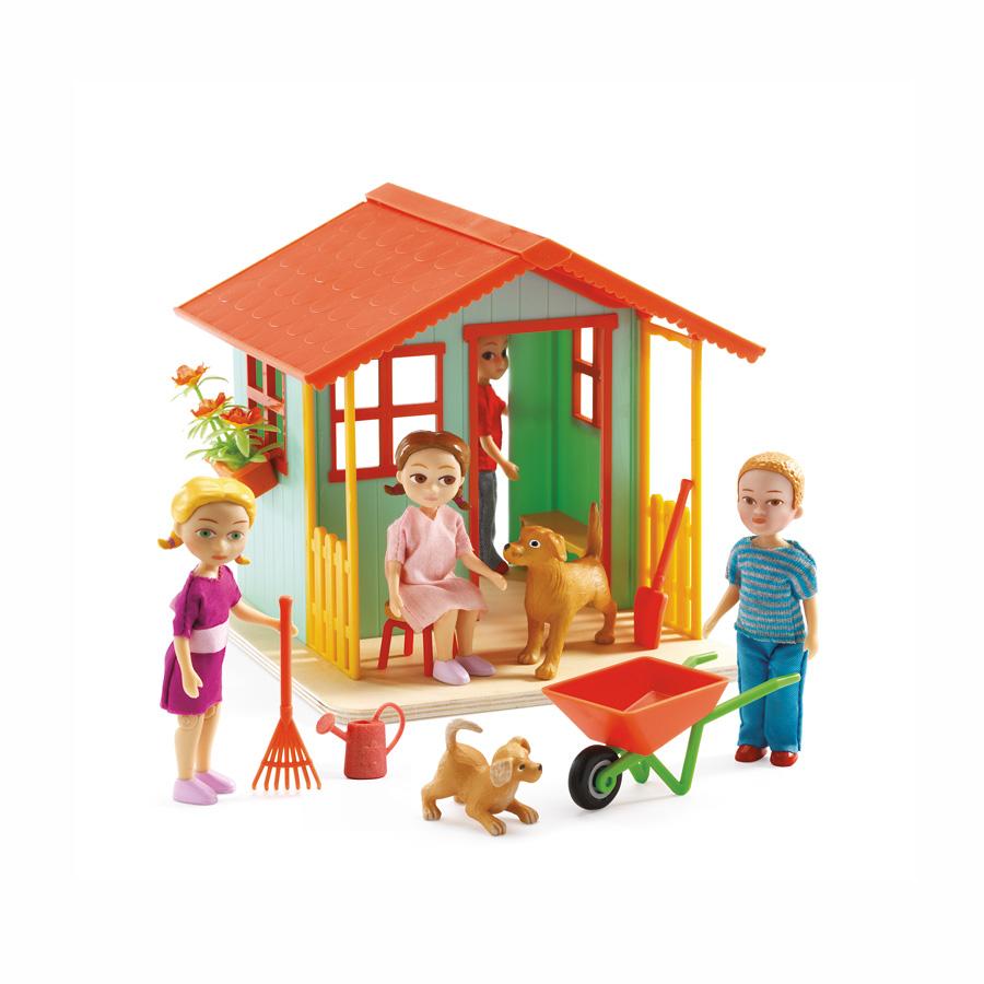 Djeco Küche | Djeco Puppenhaus Garden Playhouse Online Kaufen Emil Paula Kids