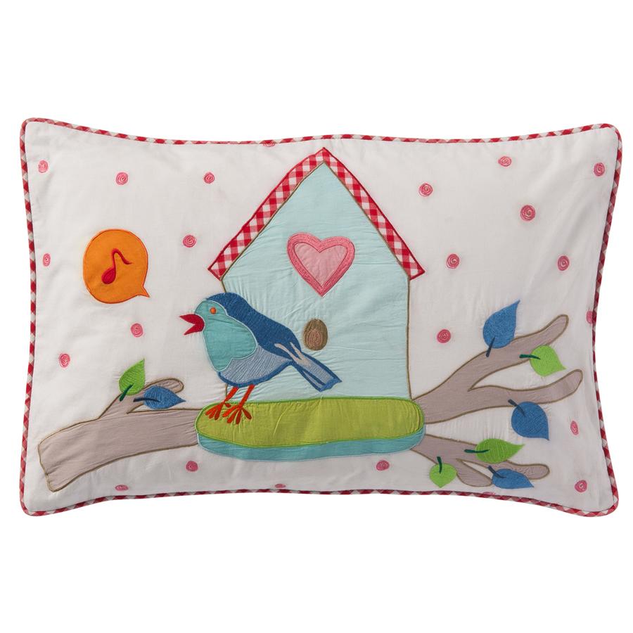 room seven kissenh lle birdhouse 40x60 online kaufen emil paula kids. Black Bedroom Furniture Sets. Home Design Ideas