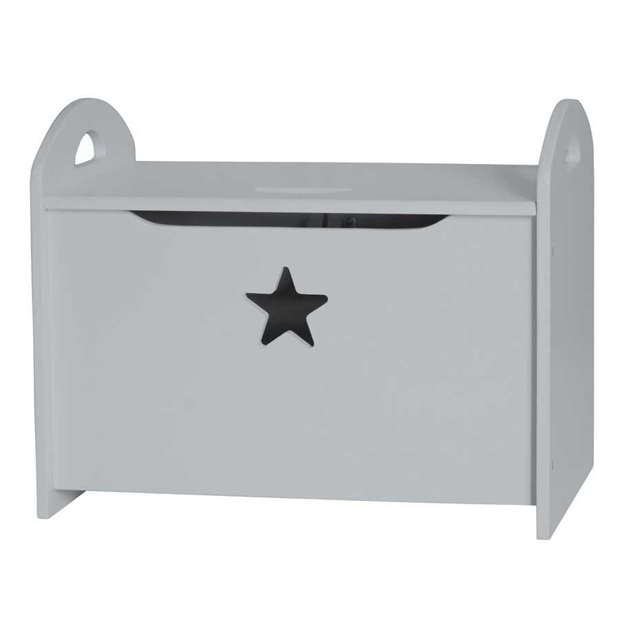 kids concept truhe star grau online kaufen emil paula kids. Black Bedroom Furniture Sets. Home Design Ideas