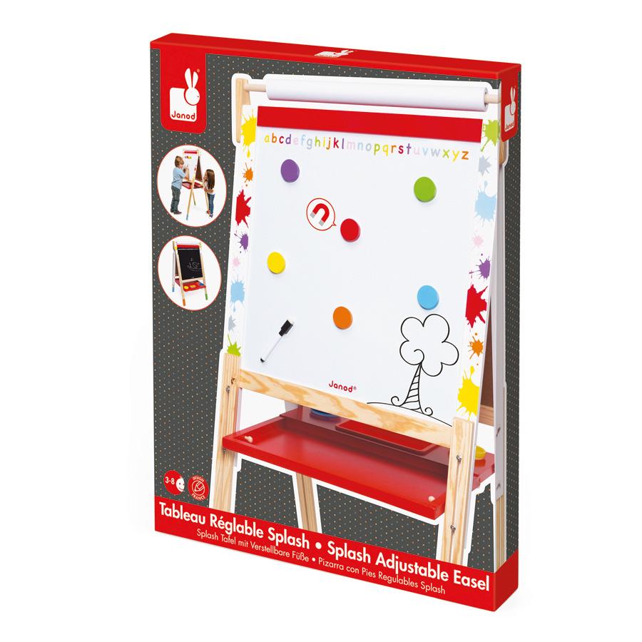 janod magnet und kreidetafel splash online kaufen emil paula kids. Black Bedroom Furniture Sets. Home Design Ideas