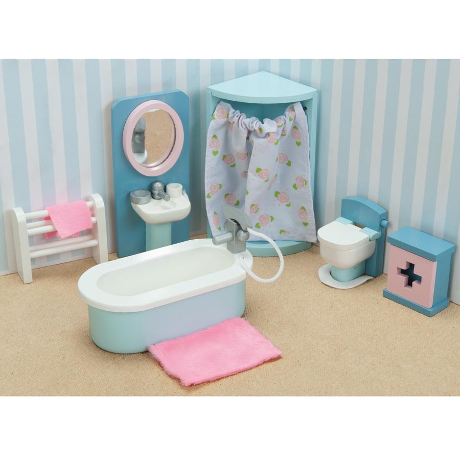 Le Toy Van Puppenhaus Daisylane Badezimmer online kaufen   Emil ...