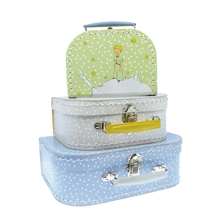 petit jour paris koffer set der kleine prinz 3er set online kaufen emil paula kids. Black Bedroom Furniture Sets. Home Design Ideas