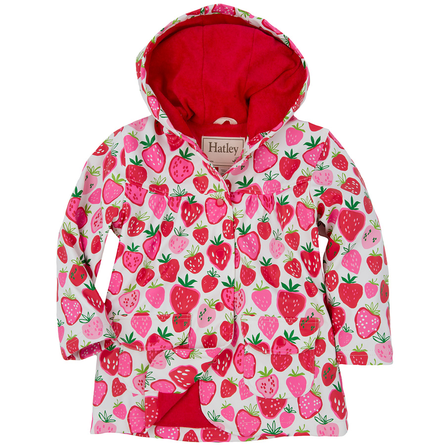 Regen jacke rosa