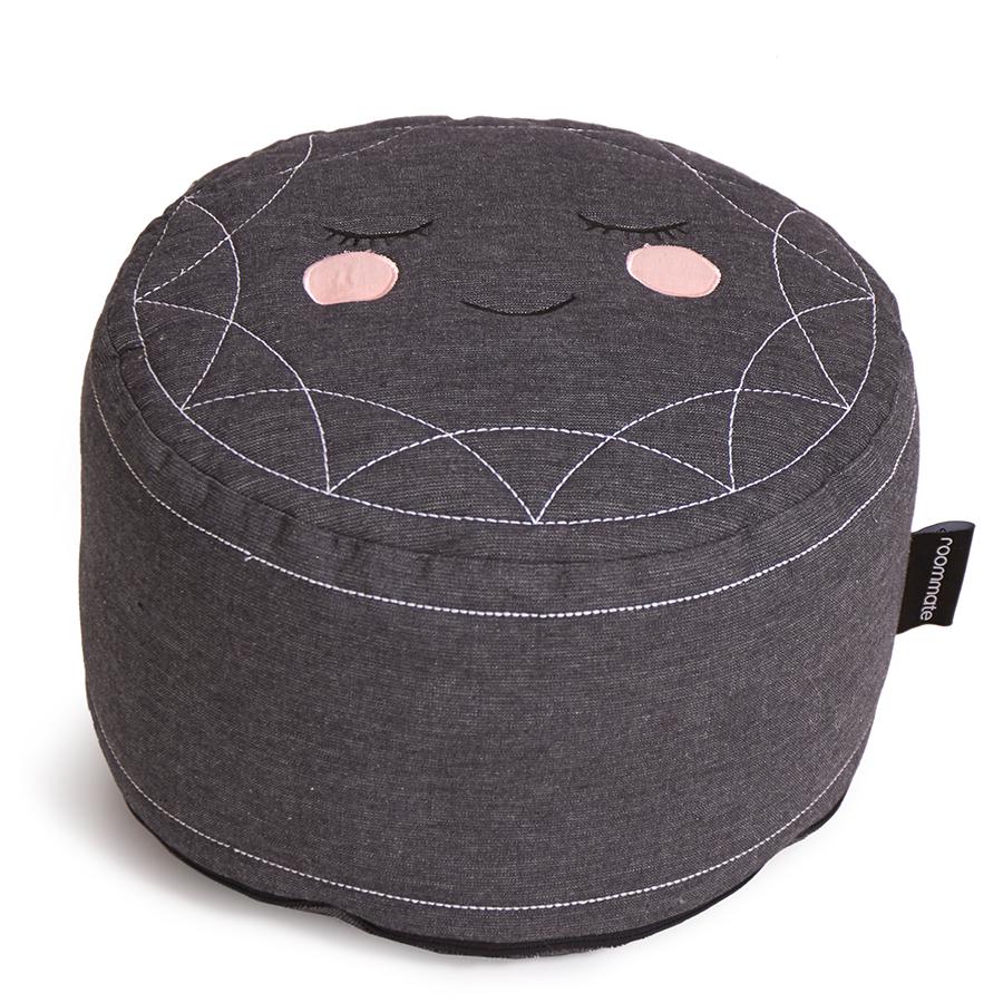 roommate pouf sitzkissen anthracite online kaufen emil paula kids. Black Bedroom Furniture Sets. Home Design Ideas