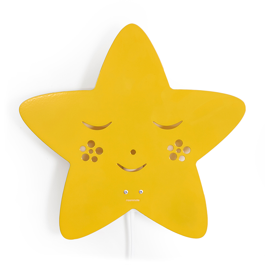 roommate lampe star yellow online kaufen emil paula kids. Black Bedroom Furniture Sets. Home Design Ideas