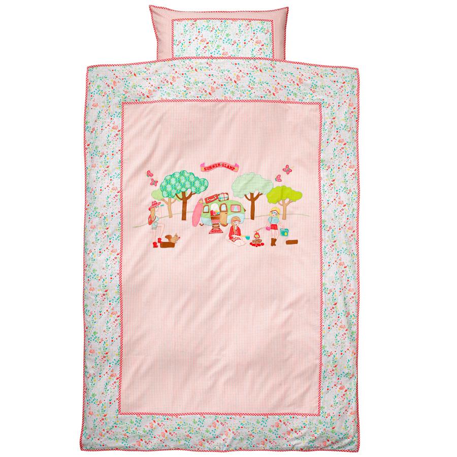 room seven bettw sche summer glamp pink online kaufen emil paula kids. Black Bedroom Furniture Sets. Home Design Ideas