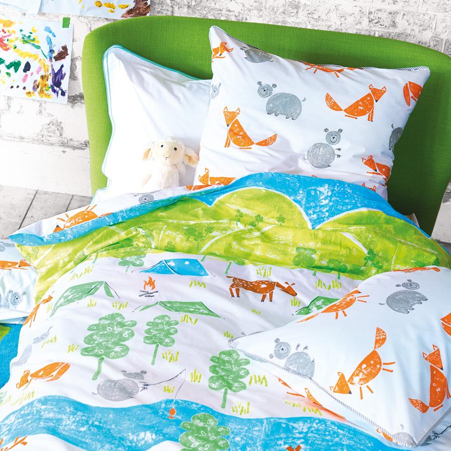 designers guild kinderbettw sche the great outdoors online kaufen emil paula kids. Black Bedroom Furniture Sets. Home Design Ideas