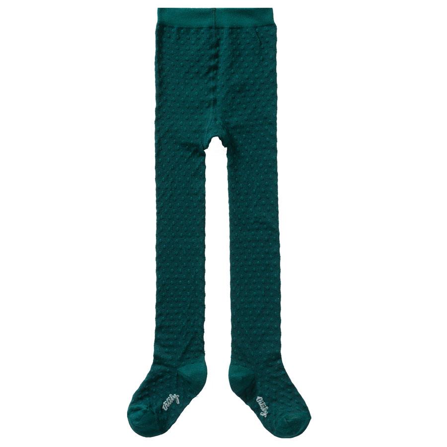 771e5b98905371 Oilily Strumpfhose Muu Bobble Plain Green online kaufen   Emil ...