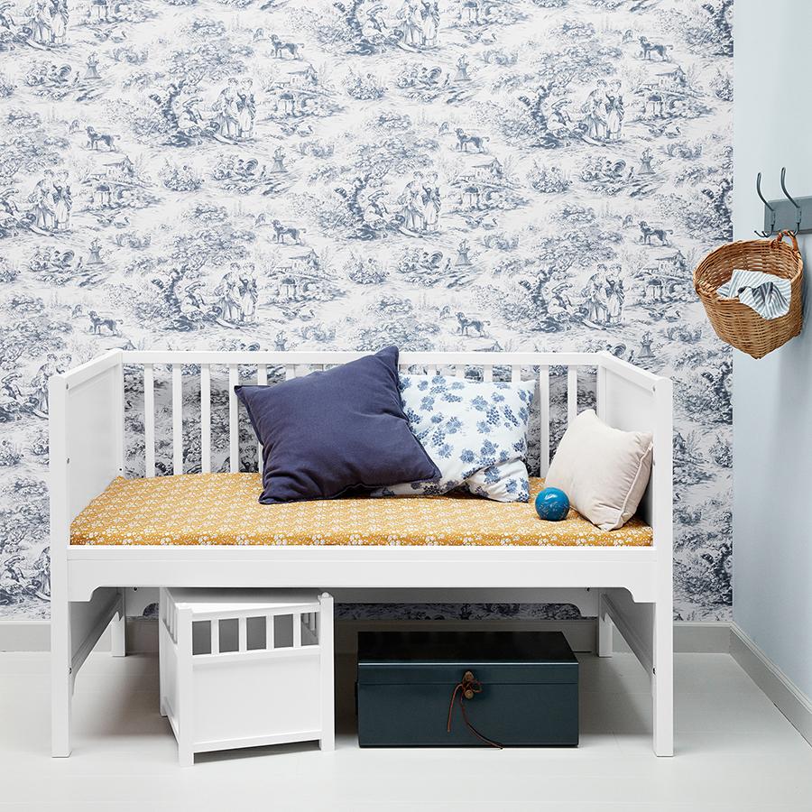 oliver furniture baby und kinderbett seaside wei. Black Bedroom Furniture Sets. Home Design Ideas