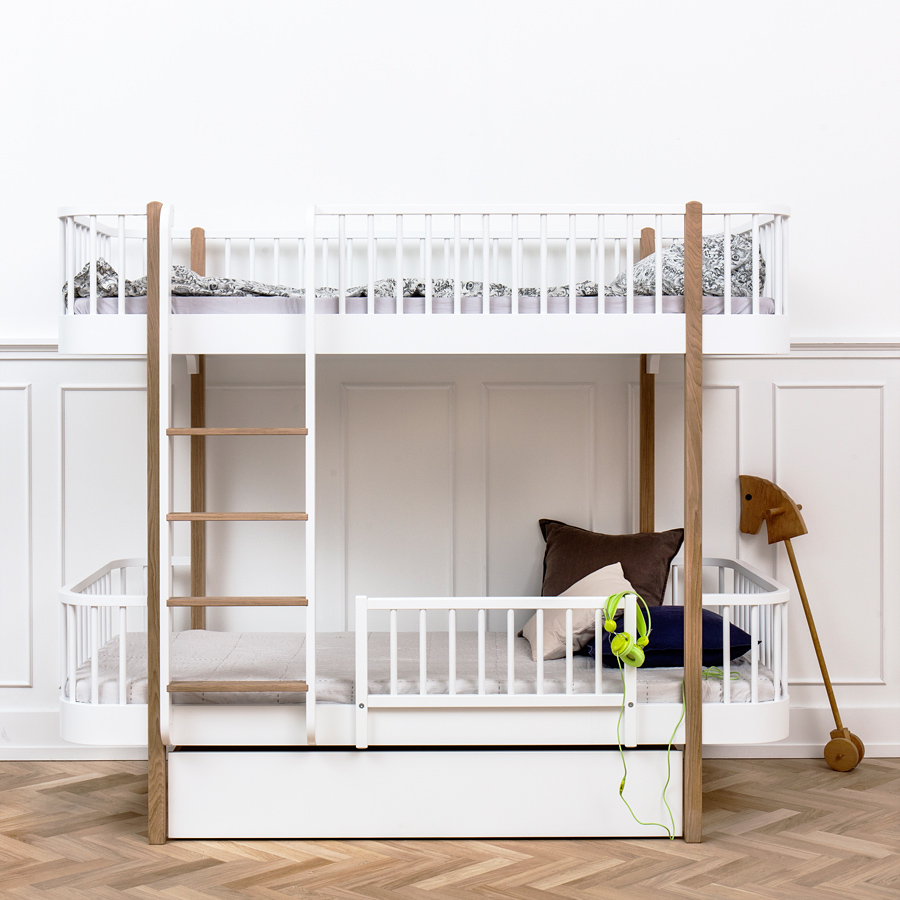Oliver furniture rausfallschutz f r betten wood online for Juniorbett ikea