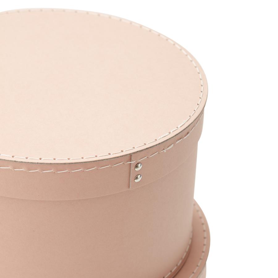 kids concept aufbewahrungsbox rund rosa 2er set online kaufen emil paula kids. Black Bedroom Furniture Sets. Home Design Ideas