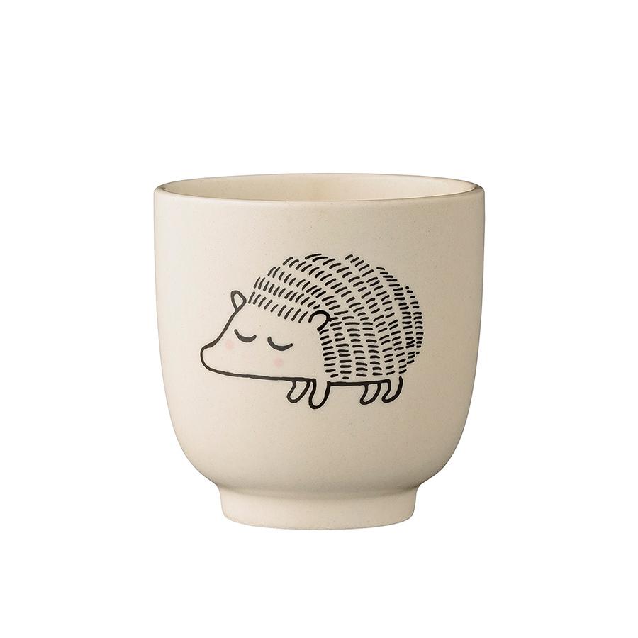 bloomingville teller mit becher hedgehog 2er set online. Black Bedroom Furniture Sets. Home Design Ideas
