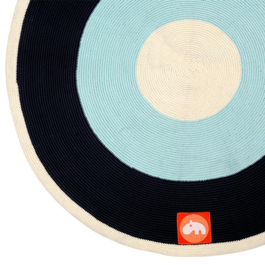 Done by Deer Teppich Rund Blau online kaufen  Emil