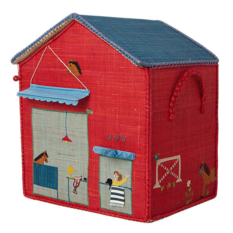 rice spielzeugkorb spielhaus m dchen online kaufen emil paula kids. Black Bedroom Furniture Sets. Home Design Ideas