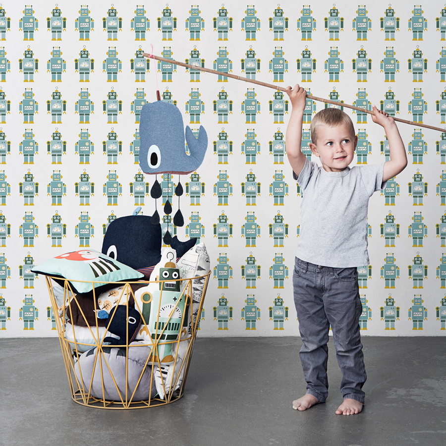 ferm living octopus spieluhr online kaufen emil paula kids. Black Bedroom Furniture Sets. Home Design Ideas