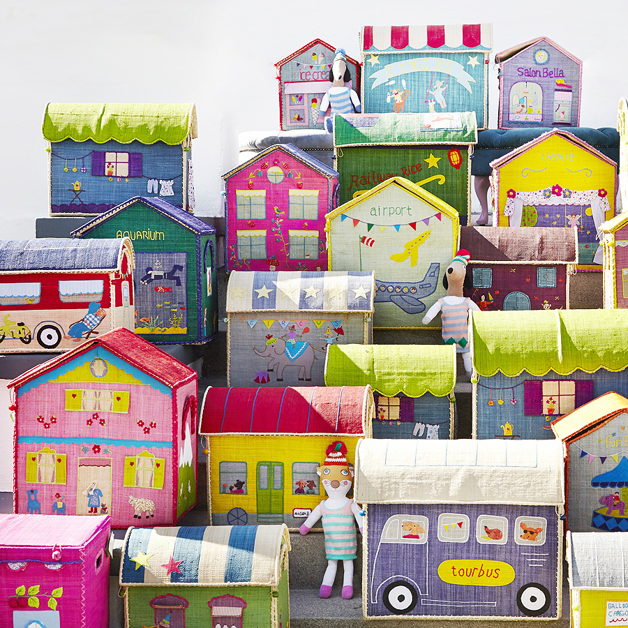 rice spielzeugkorb circus online kaufen emil paula kids. Black Bedroom Furniture Sets. Home Design Ideas