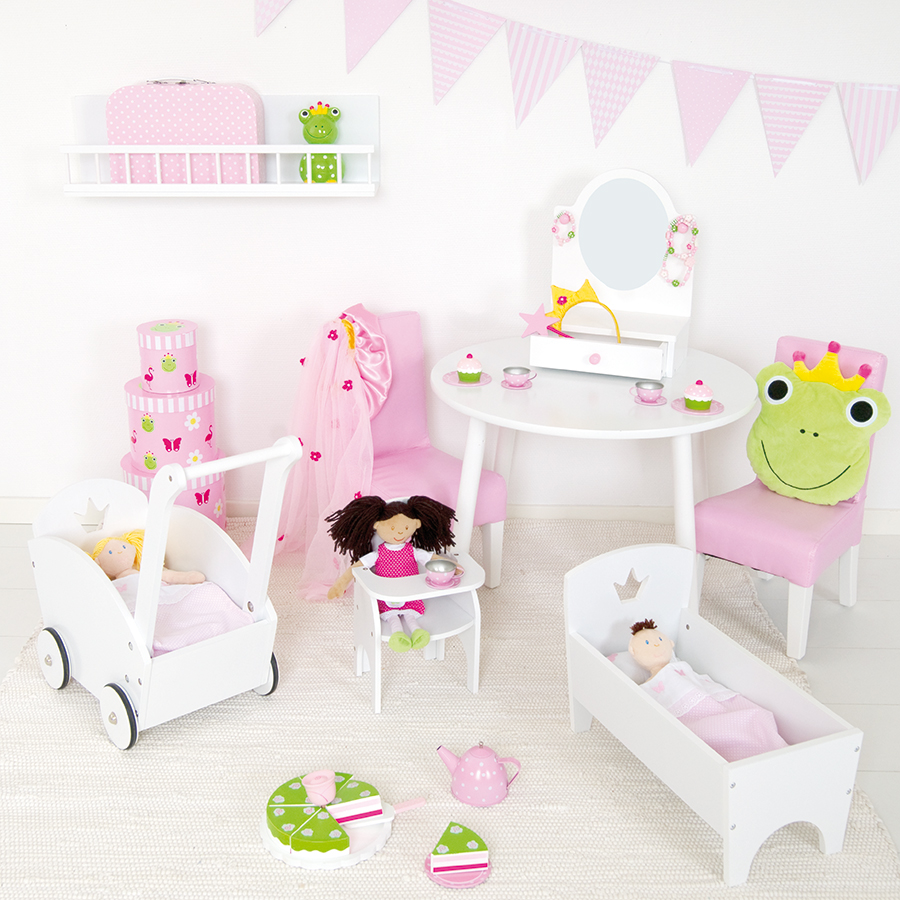 JaBaDaBaDo Stoff-Wimpelkette Rosa online kaufen | Emil & Paula Kids