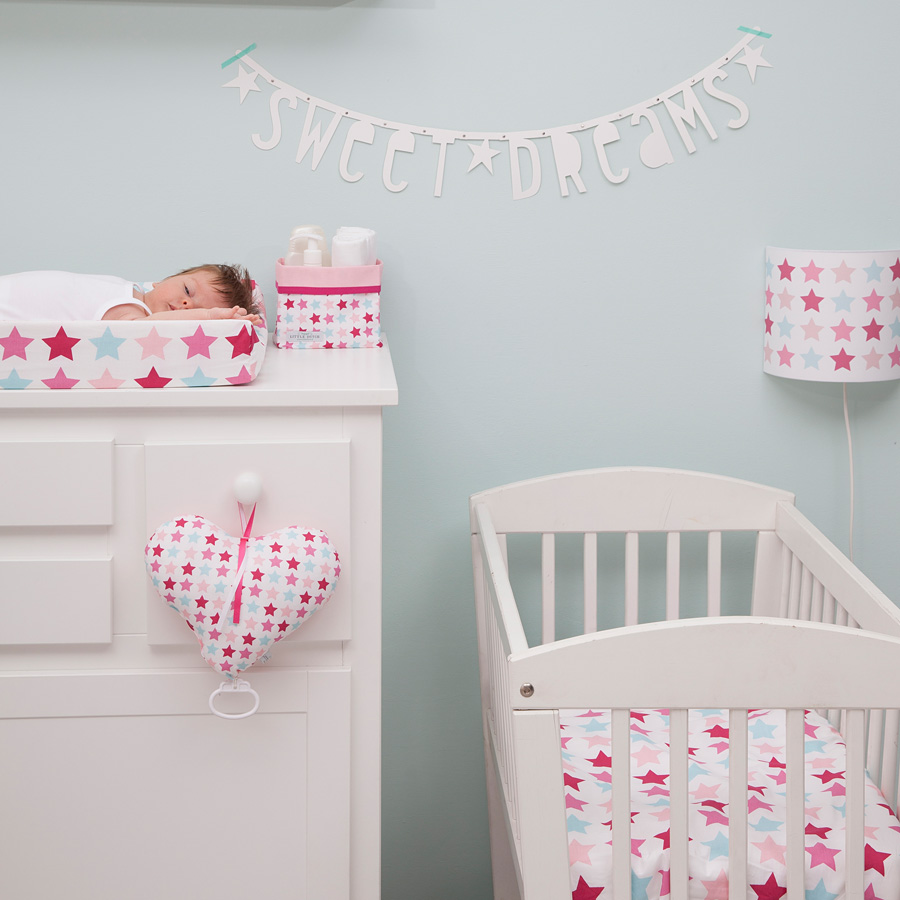 little dutch wickelmatte mixed stars pink online kaufen emil paula kids. Black Bedroom Furniture Sets. Home Design Ideas