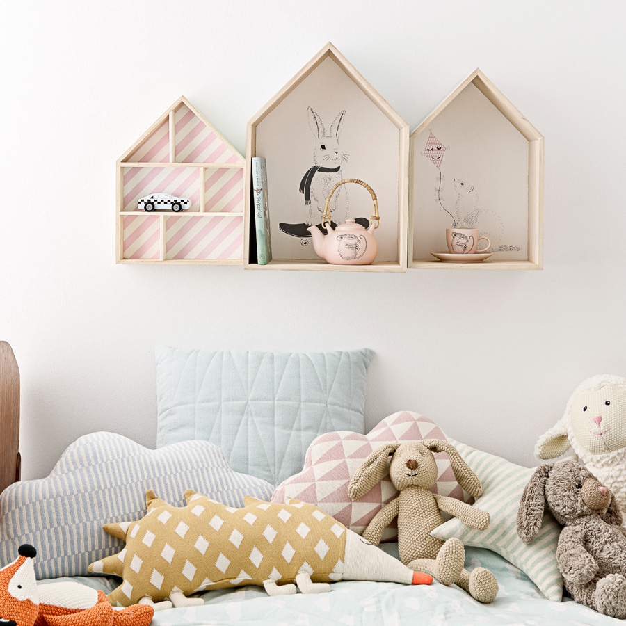 bloomingville deko haus natural print online kaufen emil paula kids. Black Bedroom Furniture Sets. Home Design Ideas