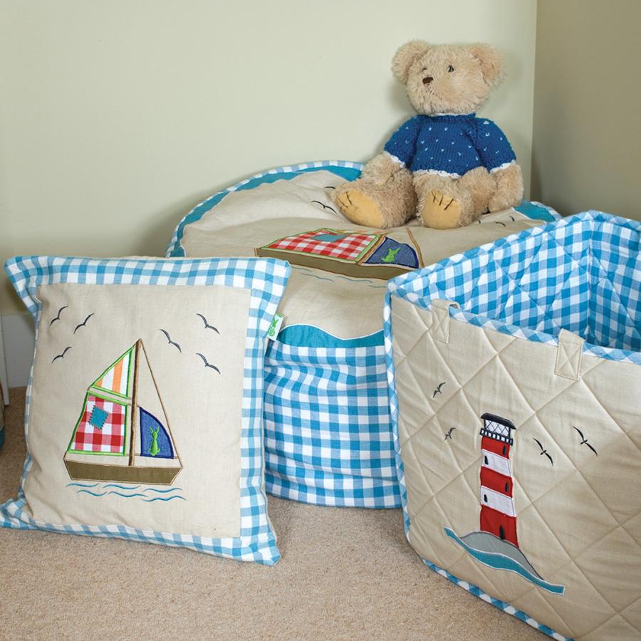 win green spielzeugtasche beach house online kaufen emil. Black Bedroom Furniture Sets. Home Design Ideas