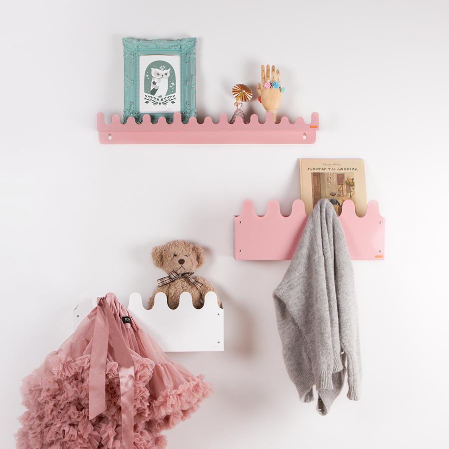 Roommate regal mit haken doodle drop grey online kaufen - Wandaufbewahrung kinderzimmer ...