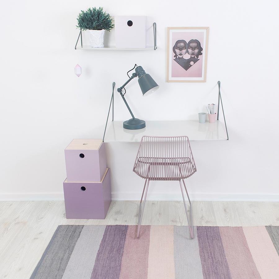sebra teppich pastel lila online kaufen emil paula kids. Black Bedroom Furniture Sets. Home Design Ideas