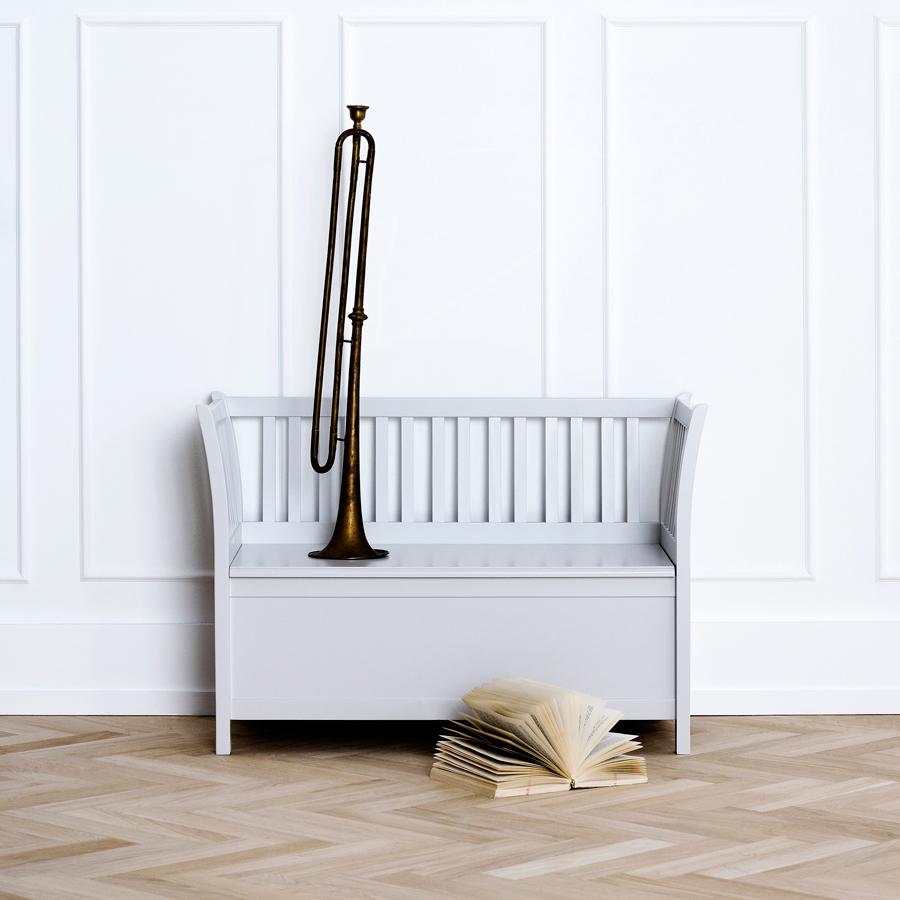 oliver furniture truhenbank kinderm bel grau online kaufen. Black Bedroom Furniture Sets. Home Design Ideas