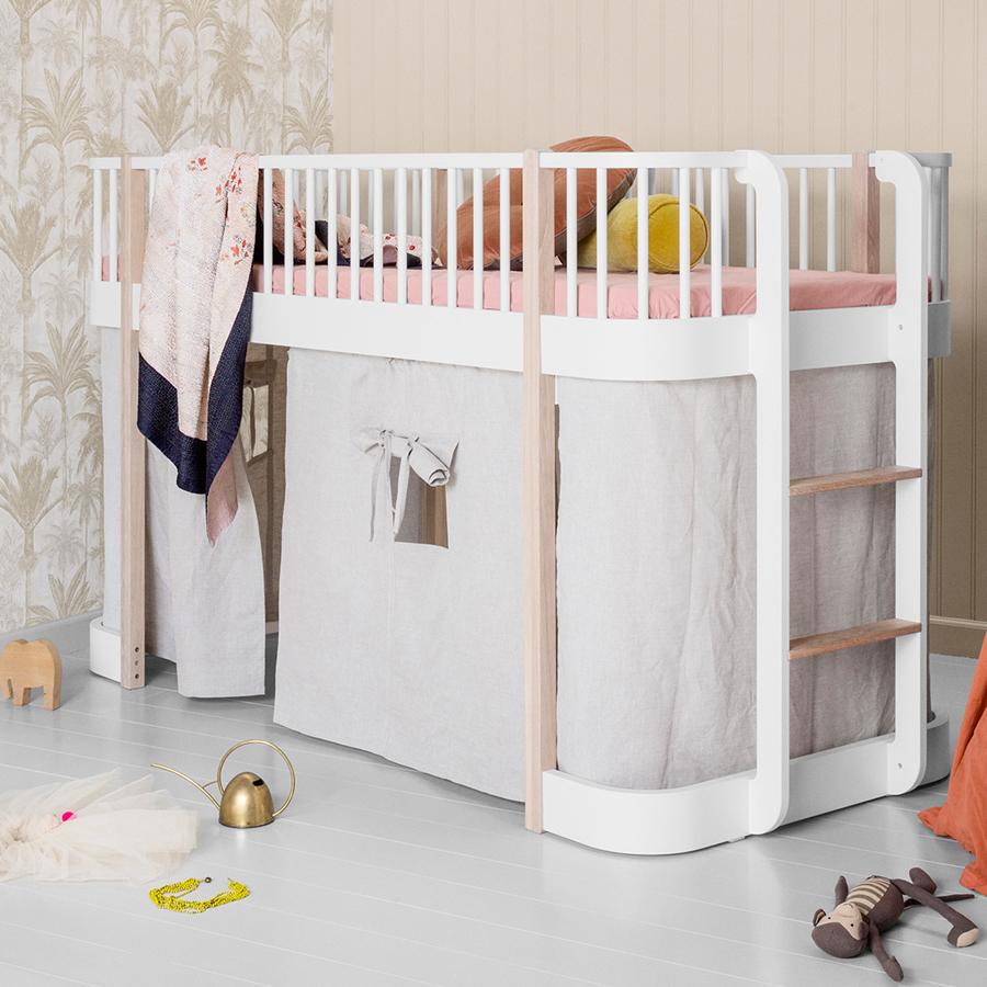 Oliver Furniture Halbhohes Hochbett Wood Eiche Online