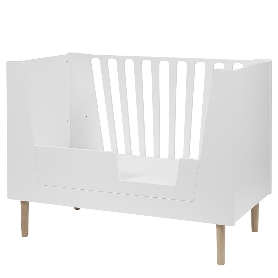 done by deer baby bett white 70x140 online kaufen emil. Black Bedroom Furniture Sets. Home Design Ideas