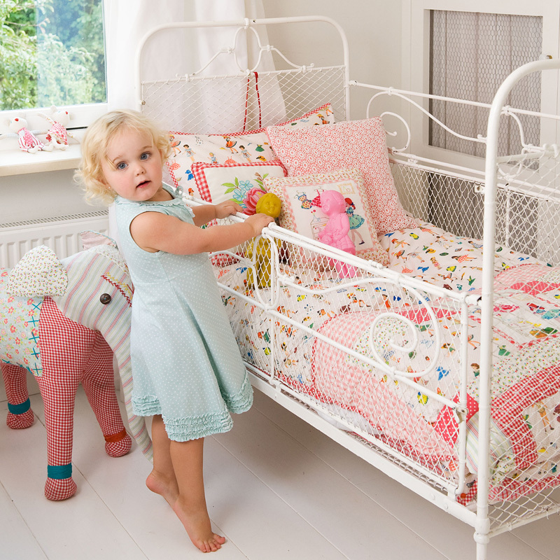 room seven bettw sche dressing dolls pink online kaufen. Black Bedroom Furniture Sets. Home Design Ideas