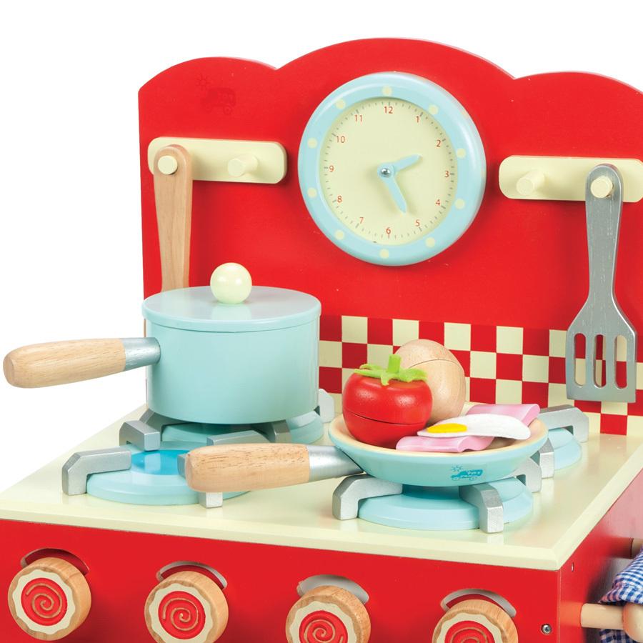 Schön Le Toy Van Spielküche Ofen Set Honeybake Rot
