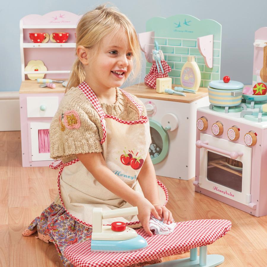 le toy van kinderküche backofen und herd rosa online kaufen | emil