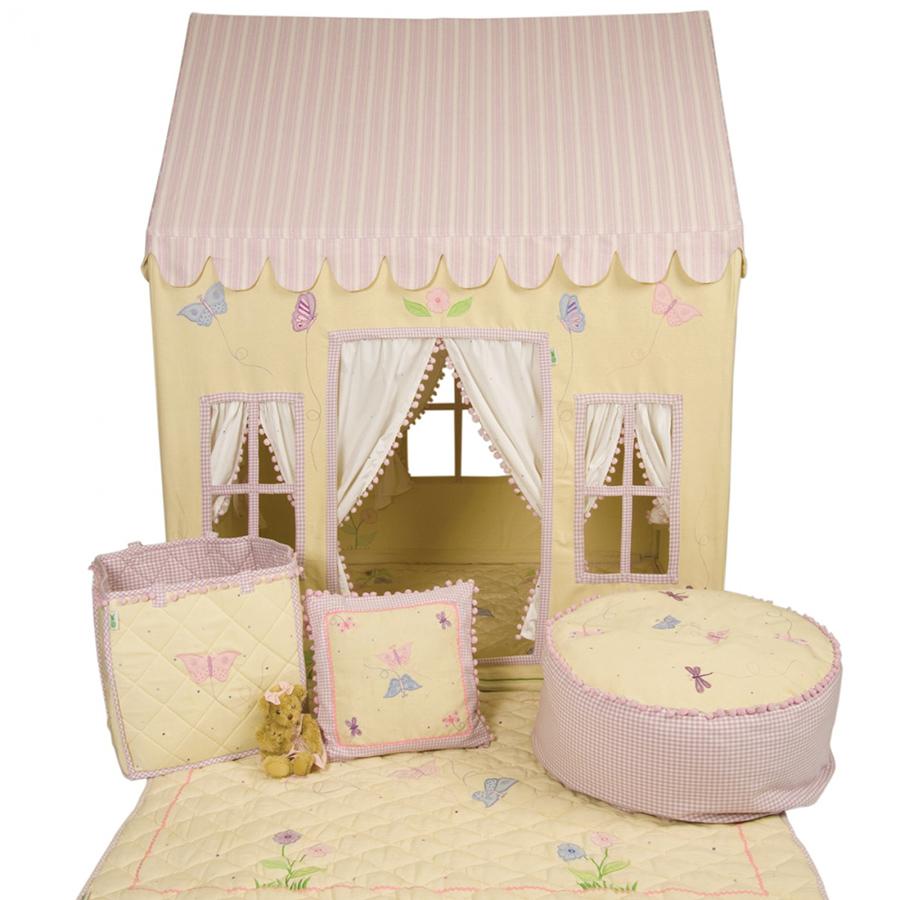 win green spieldecke quilt butterfly cottage klein online kaufen emil paula kids. Black Bedroom Furniture Sets. Home Design Ideas