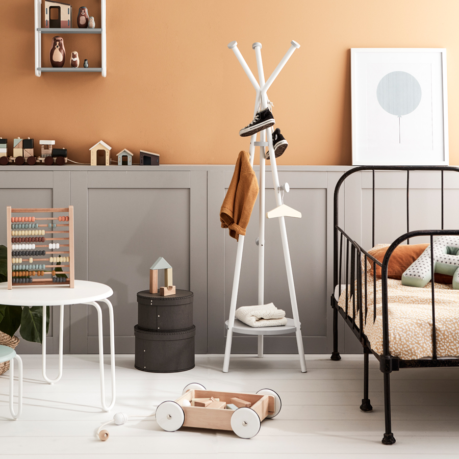 kids concept garderobenst nder grau online kaufen emil. Black Bedroom Furniture Sets. Home Design Ideas