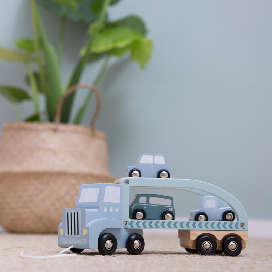 little dutch auto transporter mint online kaufen emil paula kids. Black Bedroom Furniture Sets. Home Design Ideas
