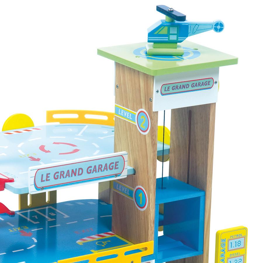 Le toy van le grand garage acheter en ligne emil paula for Grand garage biterrois