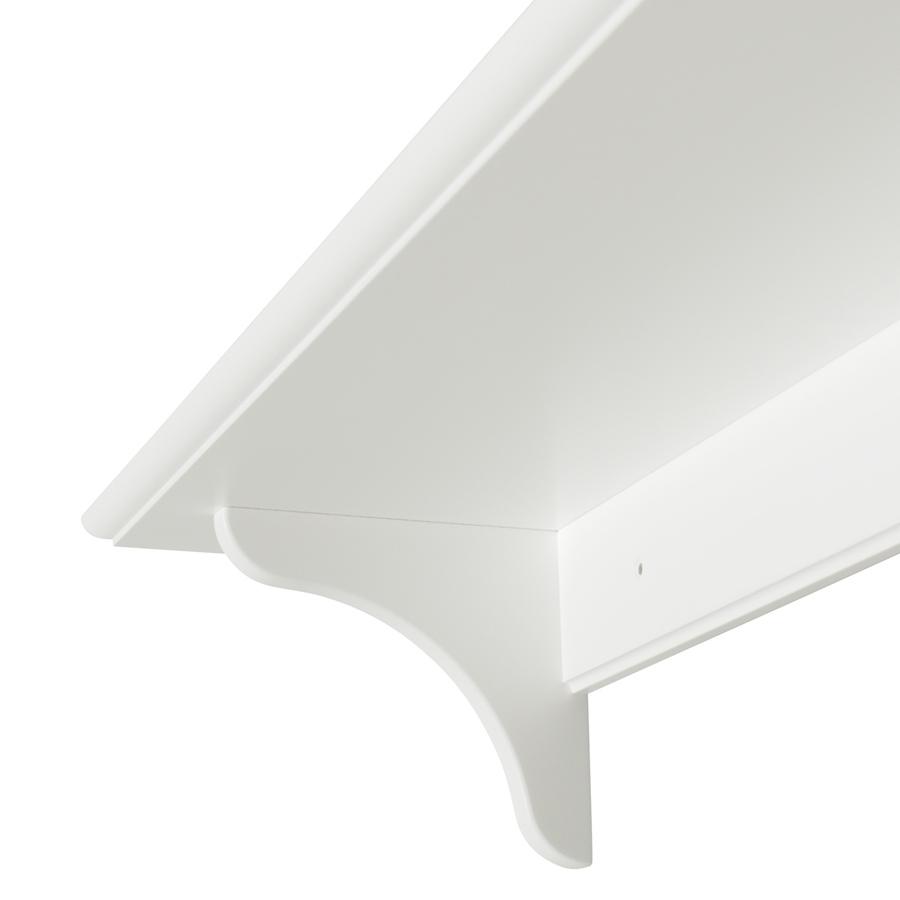 oliver furniture wandregal wei 90 cm online kaufen emil paula kids. Black Bedroom Furniture Sets. Home Design Ideas