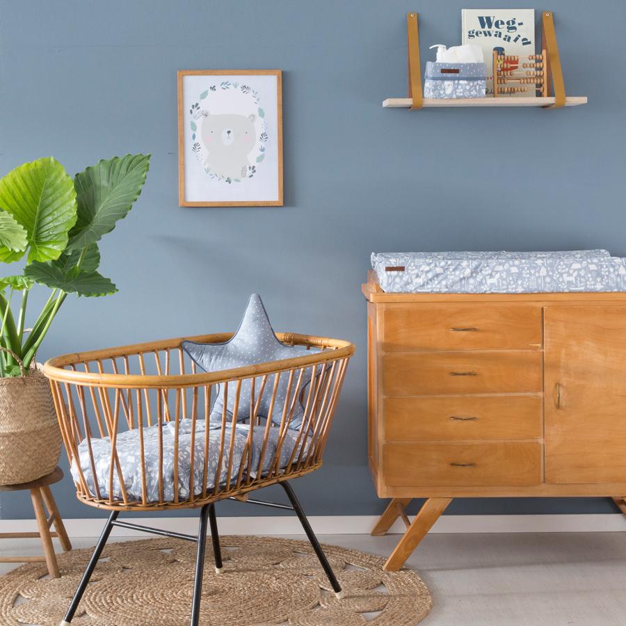 little dutch wandfarbe 2 5l vintage blue online kaufen emil paula kids. Black Bedroom Furniture Sets. Home Design Ideas