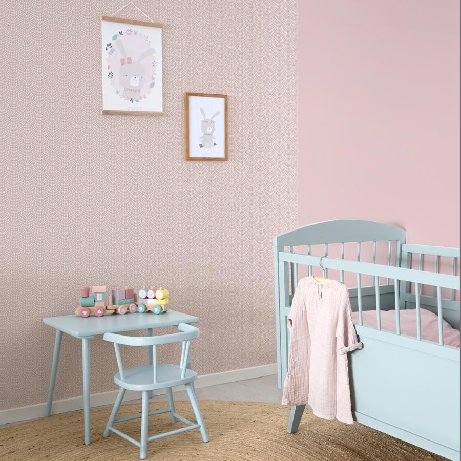 little dutch wandfarbe 2 5l vintage pink online kaufen emil paula kids. Black Bedroom Furniture Sets. Home Design Ideas
