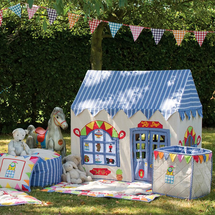 win green spielhaus toy shop gro online kaufen emil. Black Bedroom Furniture Sets. Home Design Ideas
