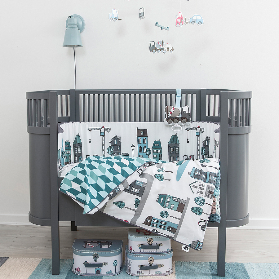 sebra baby und juniorbett kili grau online kaufen emil paula kids. Black Bedroom Furniture Sets. Home Design Ideas