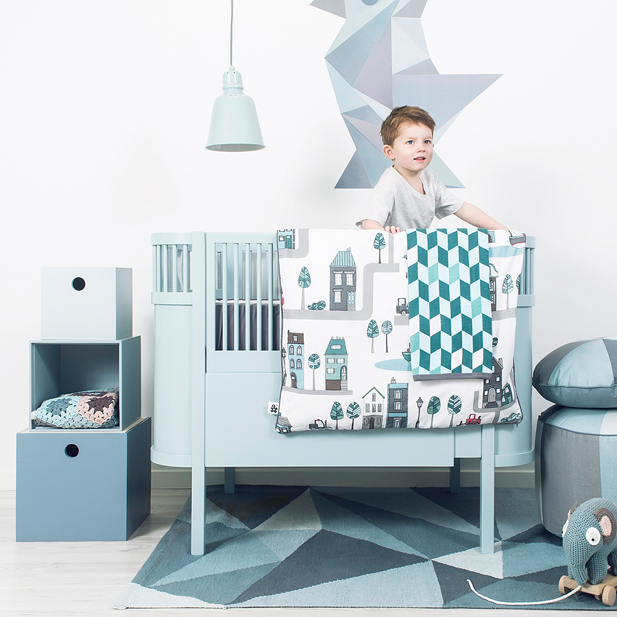 sebra baby und juniorbett kili pastel boy online kaufen emil paula kids. Black Bedroom Furniture Sets. Home Design Ideas